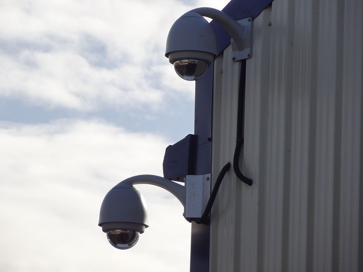 HD CCTV cameras are replacing the old ones that produced crappy grainy images for so long ... photo by CC user KRoock74 on wikimedia commons