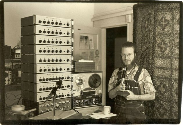 1280px-Dan_with_the_largest_installation_of_Model_A_mixers_ca_1980