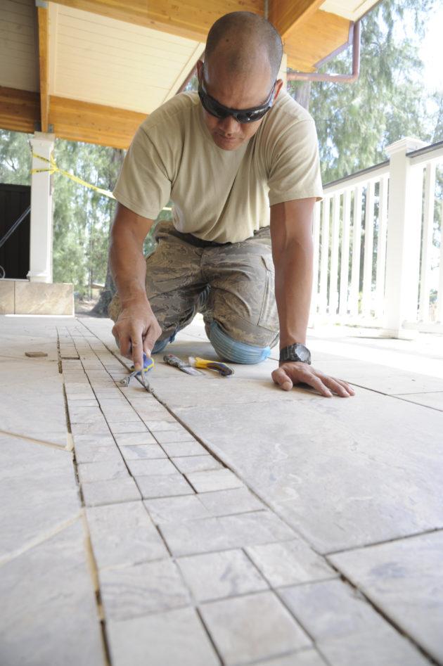 Regrouting Tiles